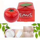 Осветляющая томатная маска для лица 18+ Tony Moly Tomatox Magic White Massage Pac, фото 5