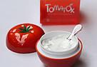 Осветляющая томатная маска для лица 18+ Tony Moly Tomatox Magic White Massage Pac, фото 6
