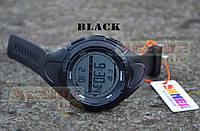Мужские спортивные часы Skmei 1025 (black) (ВІДЕО), фото 1