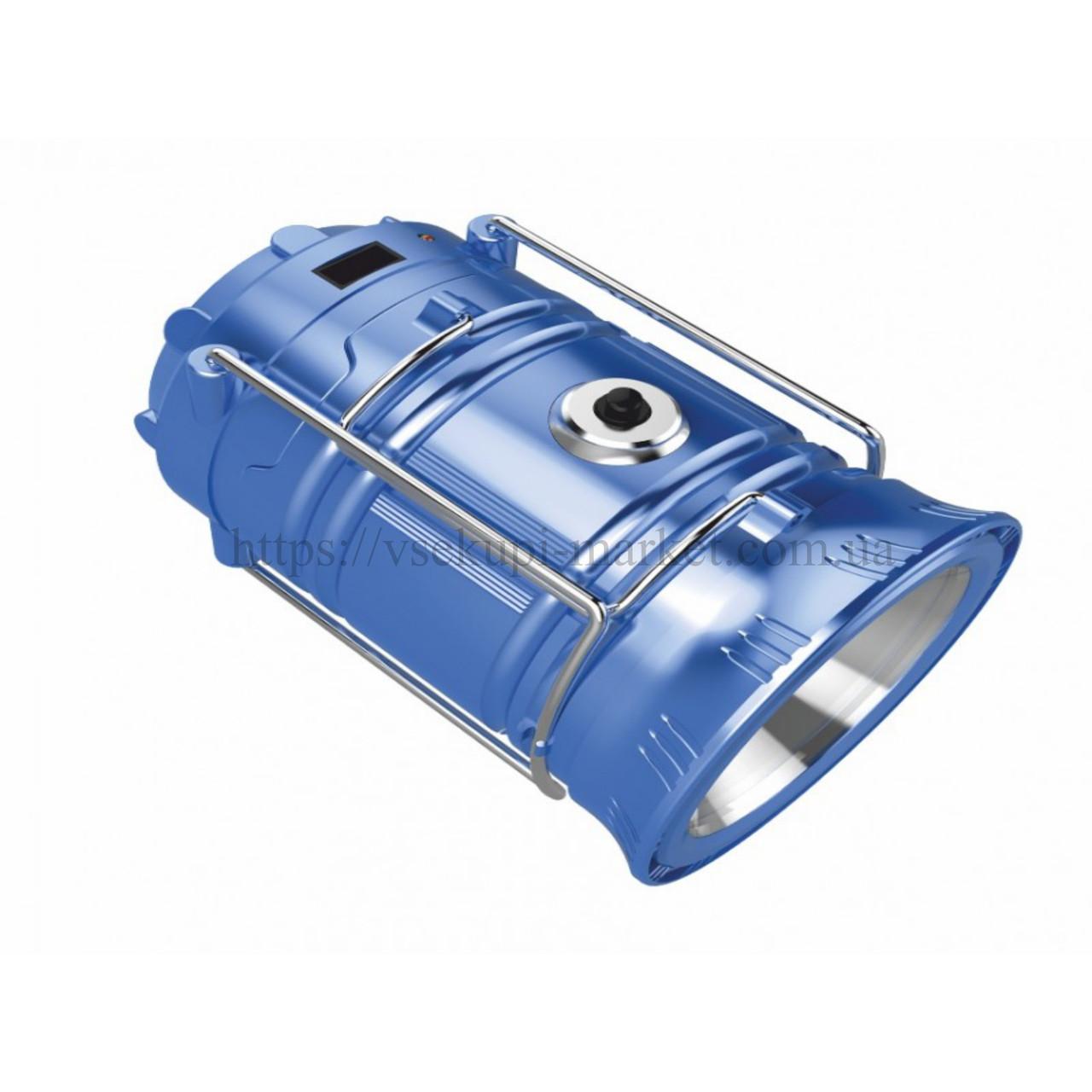 Фонарик для кемпинга RIGHT HAUSEN ALEX 1000MAH 1W + 10 SMD LED HN-314034
