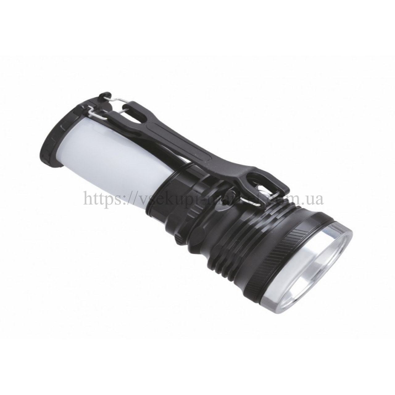 Фонарик RIGHT HAUSEN DOUBLE 1W + 28 SMD HN-314052