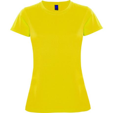 Женская спортивная футболка, желтый, ROLY MONTECARLO, размеры от S до XXL
