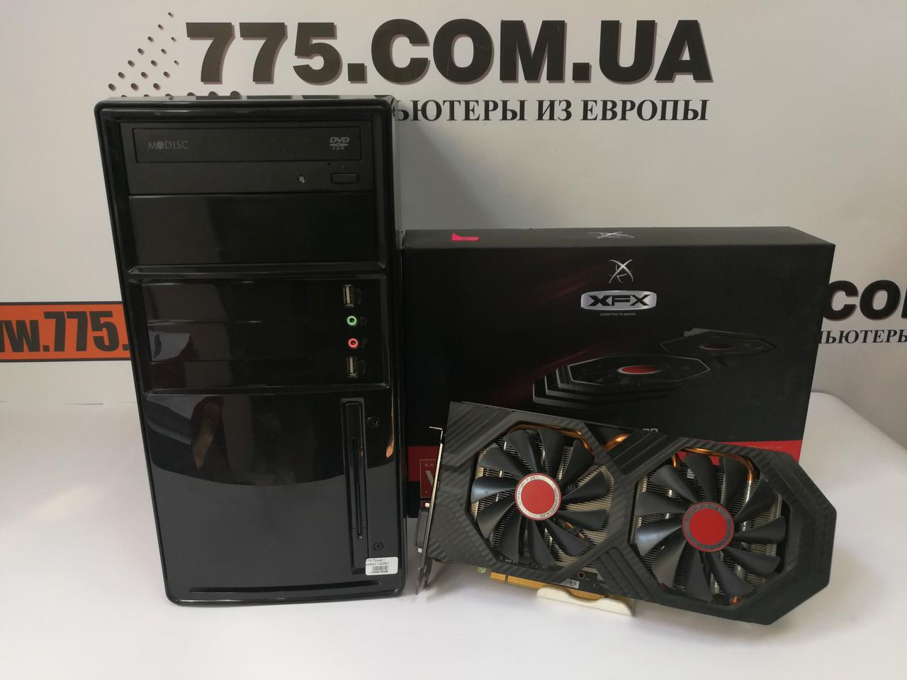 Игровой компьютер, AMD FX6100 3.9ГГц, RAM 8ГБ, HDD 500ГБ, Radeon RX 470 4ГБ