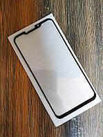 Защитное стекло Full Glue для Meizu X8 Черное 5D