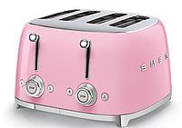 Тостер Smeg TSF03PGEU пастельно-розовый