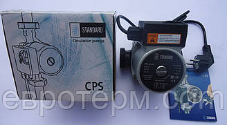 Насос циркуляционный STANDARD CPS 25-4S 130 для систем отопления и тёплый пол с шнуром и вилкой