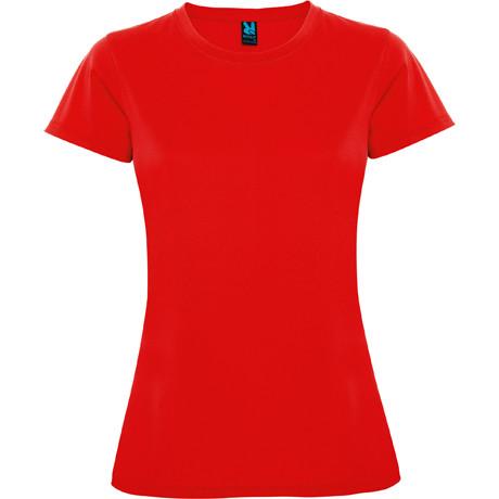 Женская спортивная футболка, красный, ROLY MONTECARLO, размеры от S до XXL