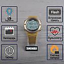 Часы спортивные, фитнес-трекер Skmei 1111, коричневый, в металлическом боксе, фото 2