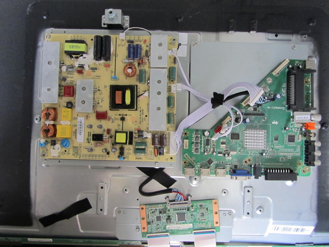 Телевізор DEX LE-4645T2 на запчастини (HK-T. SP9202V51, RS128D-4T05, MT4601B02-1-c-2)