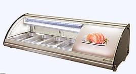 Витрина холодильная для суши cуши-кейс 4GN1/3-40 Rauder LSK - 43L