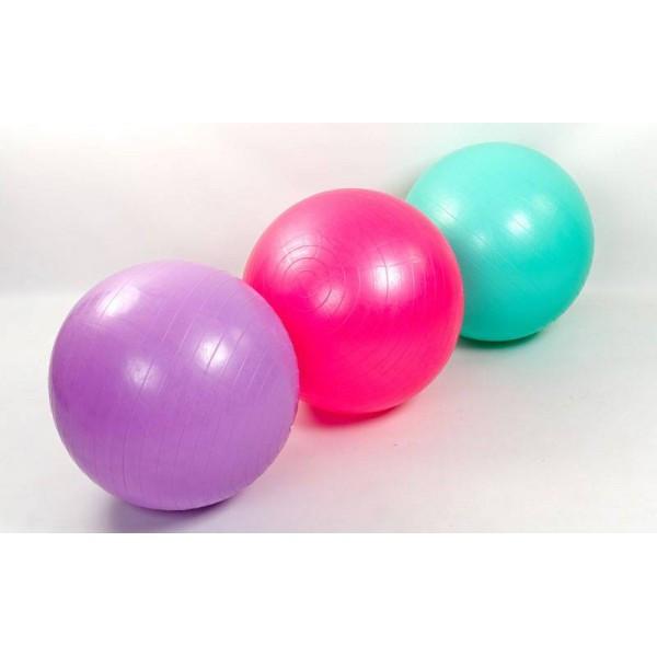 Мяч для фитнеса 65 см глянцевый