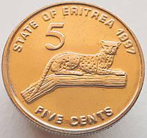 Эритрея 5 центов 1997