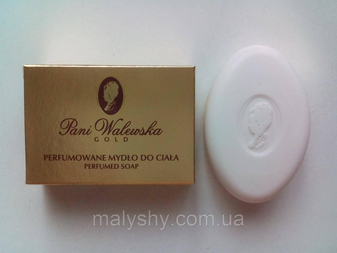 Парфюмированное мыло Pani Walewska GOLD (Пани Валевска Голд) 100г, Польша