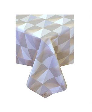 Водоотталкивающая скатерть Симфони треугольники, фото 2