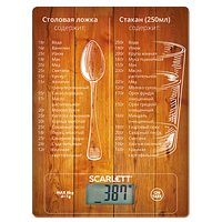 Весы Scarlett SC-KS57P19 (Скарлетт) (8кг)