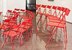 Стул Ибица черный пластик красный, фото 9