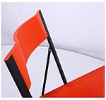 Стул Ибица черный пластик красный, фото 5