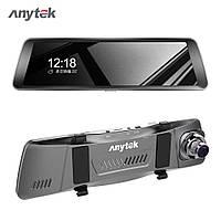 Anytek T90 Видеорегистратор зеркало 9.88 двойной объектив автомобильный регистратор DVR Оригинал