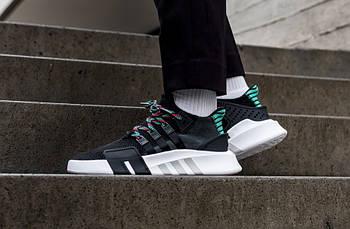 """Кросівки Adidas EQT Bask ADV """"Black\Green"""""""