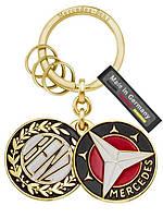 Оригинальный брелок Mercedes-Benz Key Ring, Sindelfingen, Gold, Brass (B66041523)