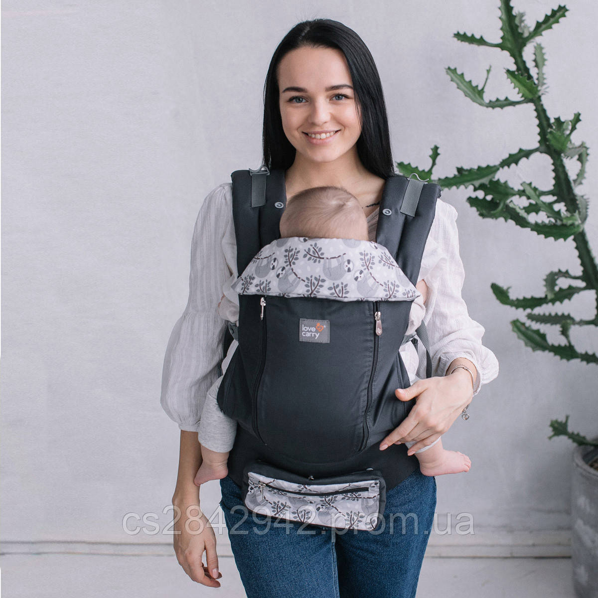 Ерго-рюкзак Love & Carry® AIR X Лінивці