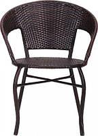 Кресло Catalina ротанг коричневый AMF