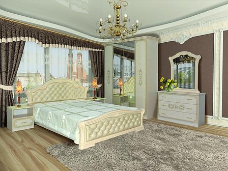 """Спальный гарнитур """"Венеция Нова"""" Мир Мебели, фото 2"""