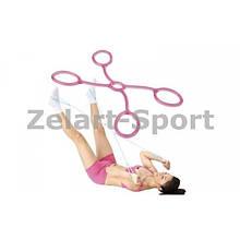 Эспандер для фитнеса Икс гелевый нагрузка низкая
