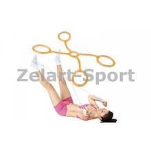 Эспандер для фитнеса Икс гелевый нагрузка средняя
