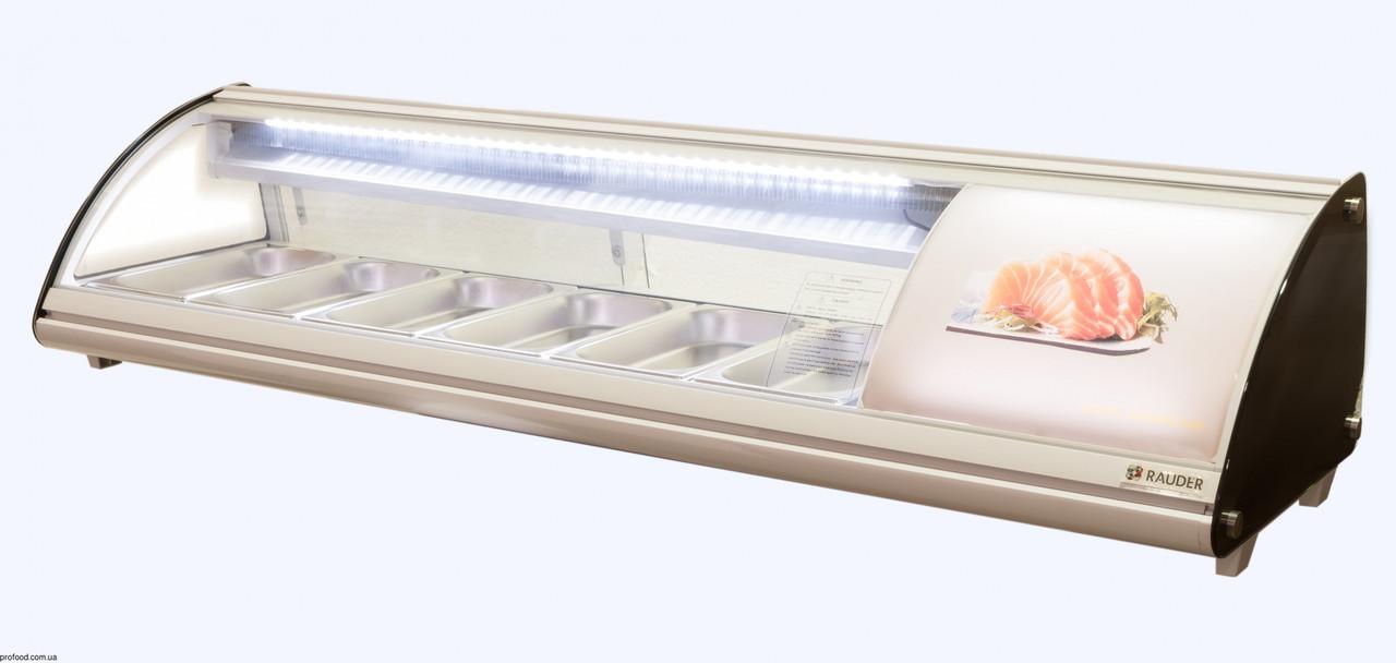 Витрина для суши суши-кейс 6GN1/3-40 Rauder LSK - 83L