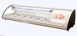 Витрина холодильная для суши суши-кейс 6GN1/3-40 Rauder LSK - 83L