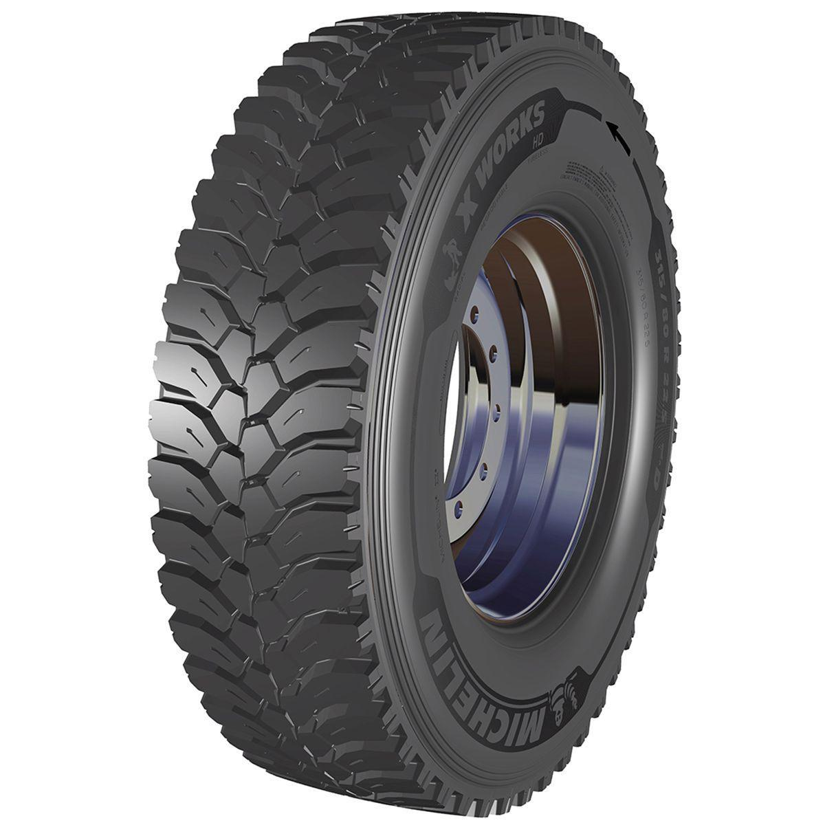 Шина 13 R 22.5 MICHELIN 156/151K X WORKS HD D