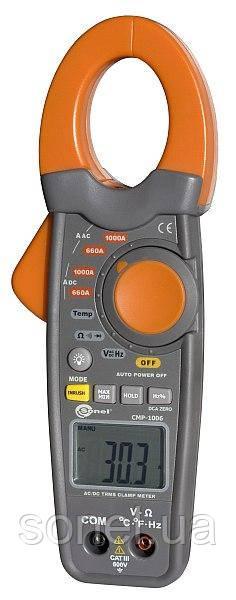 Кліщі струмовимірювальні CMP-1006