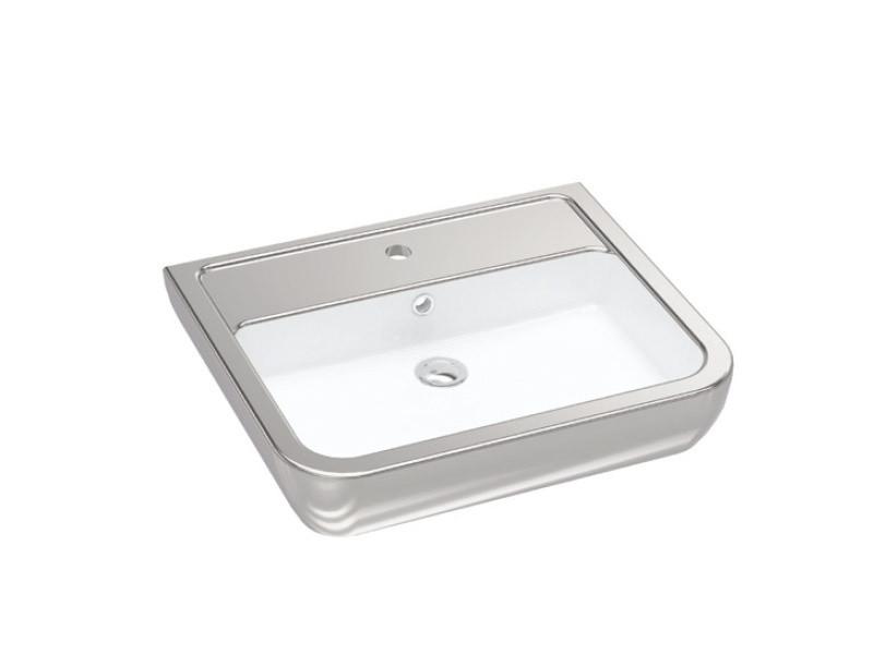 Halley Умывальник 60 см серебро 3201-0455-12 IDEVIT