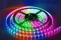 LED Светодиодная лента SMD 5050 12V 5м Разноцветная RGB