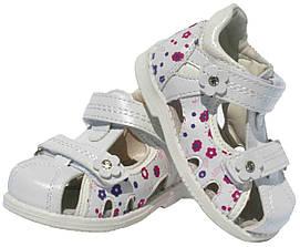 Детские кожаные босоножки для девочки Clibee Польша размеры 20-25