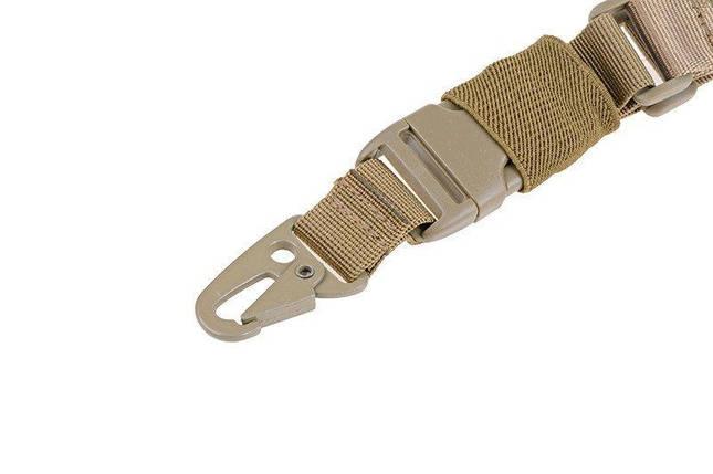 Одноточечный ремень оружейный типа BUNGEE - TAN [GFC Tactical] (для страйкбола), фото 2