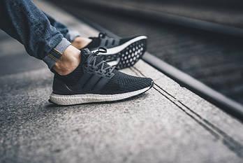 "Кросівки Adidas Ultra BOOST ""Core Black"""