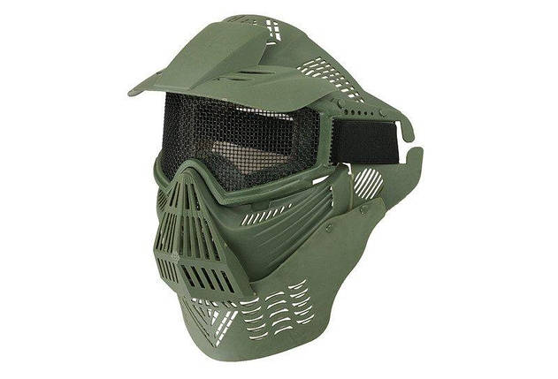 Pełna Маска Ultimate Tactical Guardian V2 - Olive [Ultimate Tactical] (для страйкбола), фото 2