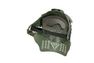 Pełna Маска Ultimate Tactical Guardian V2 - Olive [Ultimate Tactical] (для страйкбола), фото 3