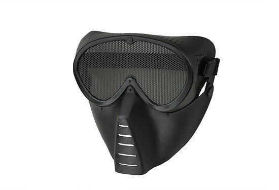 Маска Ventus Eco - black [Ultimate Tactical] (для страйкбола)