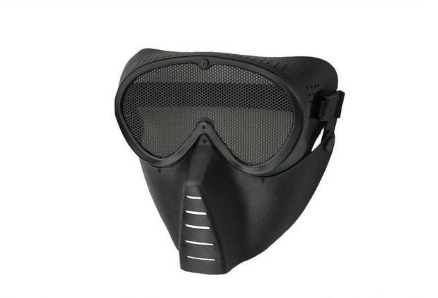 Маска Ventus Eco - black [Ultimate Tactical] (для страйкбола), фото 2