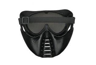 Маска Ventus Eco - black [Ultimate Tactical] (для страйкбола), фото 3