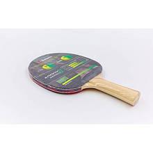 Теннисная ракетка BUTTERFLY ADDOY II-F1 TT-BAT TR-1 (древесина, резина)