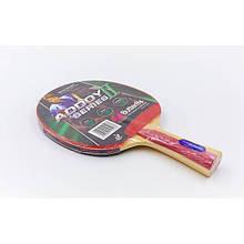Теннисная ракетка BUTTERFLY ADDOY II-F2 TR-5 (древесина, резина)