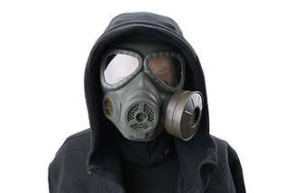 Replika maski p-gaz z systemem chłodzenia - olive drab [Ultimate Tactical] (для страйкбола), фото 3