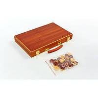 Нарды настольная игра деревянные NN-5 (38см x 48см)