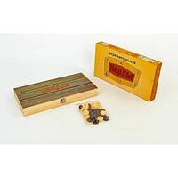Нарды настольная игра деревянные NN-8 (34см x 34см)
