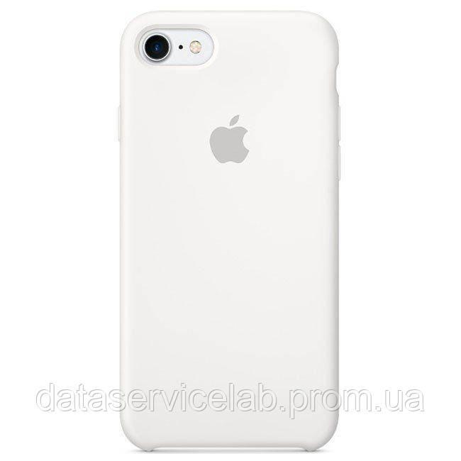 Чехол накладка для iPhone 7/8 Silicone Case White