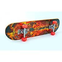 Скейтборд в сборе (роликовая доска) KEPAI SD-3 (р-р деки 78х20х1см)